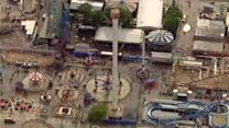 Parts of Coney Island's Luna Park closed by swaying tower