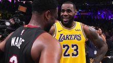 On-court mics reveal LeBron James' big secret
