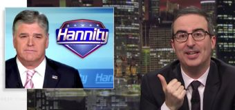 John Oliver buys 'Hannity' ad to reach Trump