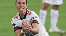 Foot - BRE - Brésil: Flamengo bat Fluminense, la quatrième victoire d'affilée du champion en titre