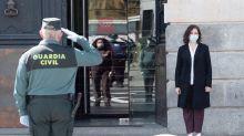 """Díaz Ayuso ve una """"maniobra impropia de un sistema democrático"""" la destitución de Pérez de los Cobos"""