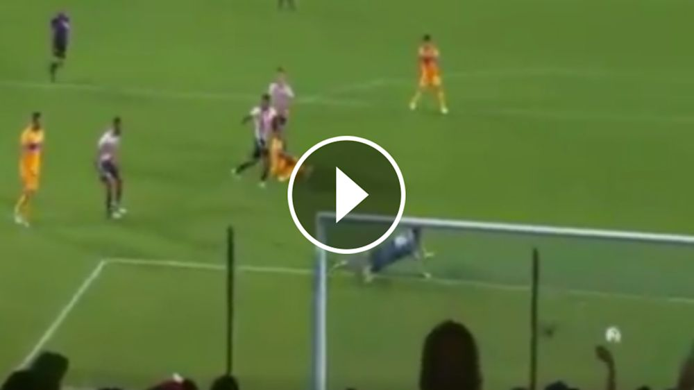VIDEO: Eduardo Vargas abre el marcador para Tigres
