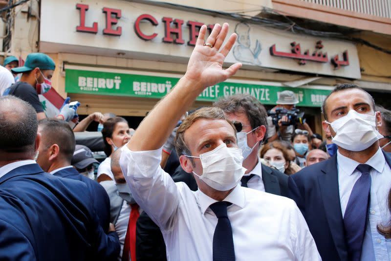 France's Parly confirms Macron plans trip to Lebanon Sept. 1