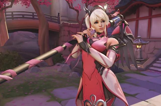 'Overwatch' skin raised more than $10 million for breast cancer research