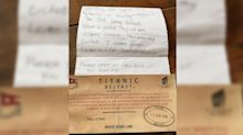 Scottish girl's message in a bottle found a year later and posted to Facebook