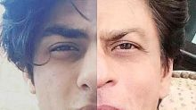 This photo proves that Aryan Khan is dad Shah Rukh Khan's spitting image