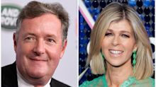 Piers Morgan praises Kate Garraway for 'courage' and tells coronavirus face mask 'whiners' to 'shut up'