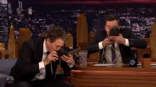 Hugh Grant shows Jimmy Fallon disgusting rugby ritual