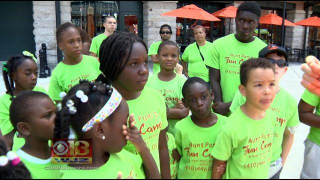 Aunt Pam's Fun Camp, A Place For Baltimore Youth To Stay Away From Violence