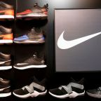 Nike beats profit estimates as online sales rise 82%; stock set for record high