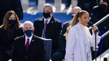 Jennifer Lopez shares unifying message during bilingual inauguration performance