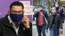 Coronavirus Victoria: Premier flags more restrictions if masks fail