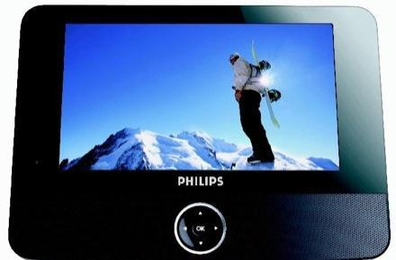 Philips 7-inch PET722 DVD player: cause you'll never reach the top