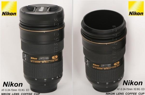 Nikon's got a coffee-toting zoom lens, too