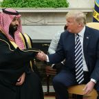 Trump Welcomes Saudi Crown Prince to U.S. as 'Great Purchaser'