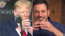 Jimmy Kimmel Mocks 'Weak' Trump: 'There's Clearly Something Going On'