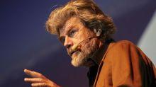 """Messner: """"Italia incerottata, ho l'età per fare il senatore a vita"""""""
