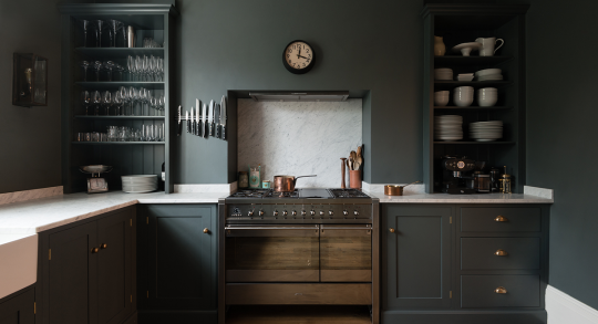 "<p>Shaker design is all about beauty, simplicity, and functionality, and it's going to see a major surge in 2016. Devout Shakers viewed simplicity and thorough work as a form of prayer, and <a href=""http://www.devolkitchens.co.uk/kitchens/shaker-kitchen/"" rel=""nofollow noopener"" target=""_blank"" data-ylk=""slk:their attention to craftsmanship and self-sufficiency"" class=""link rapid-noclick-resp"">their attention to craftsmanship and self-sufficiency</a> is a perfect match for the current cultural obsession with all things ""<a href=""http://katiebrownhomeworkshop.com/project/branded-wood-placemats/"" rel=""nofollow noopener"" target=""_blank"" data-ylk=""slk:maker"" class=""link rapid-noclick-resp"">maker</a>."" <i>(Photo: <a href=""http://www.devolkitchens.co.uk/kitchens/shaker-kitchen/"" rel=""nofollow noopener"" target=""_blank"" data-ylk=""slk:DeVol Kitchens"" class=""link rapid-noclick-resp"">DeVol Kitchens</a>)</i></p>"