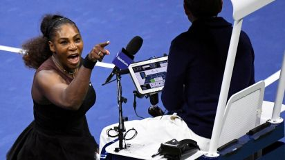 Serena 'has nothing to apologise for' after US Open meltdown