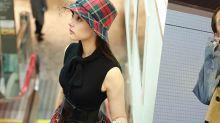 透明感女神新木優子日本穿搭,靠高腰闊褲長裙顯高