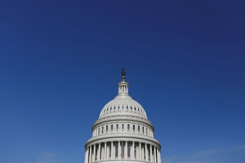 FILE PHOTO: A general view of the U.S. Capitol building on Capitol Hill in Washington