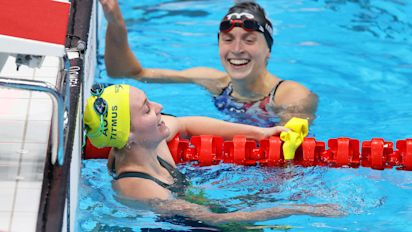 Ledecky dethroned by Titmus in Olympic duel