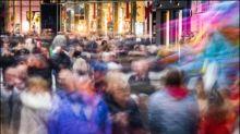 Frankfurter Einkaufsmeile am belebtesten