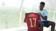 Ansu Fati revela lo que le dijo Luis Enrique antes de debutar