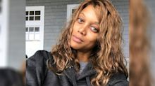 Tyra Banks looks amazing and ageless with no makeup and messy hair