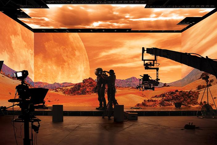 Samsung's 'The Wall' will be used to form a virtual movie studio