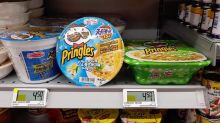 Pringles ramen arrives in Singapore retailing at $4.50, double the price of that in Japan