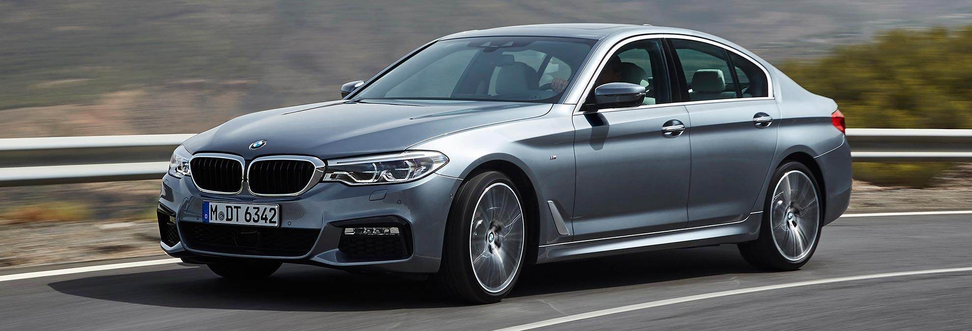 New 2017 Bmw 5 Series Sheds Pounds Piles On Tech