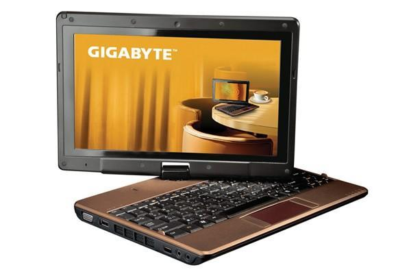 Gigabyte T1028X TouchNote brings fresher specs, steeper price