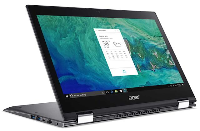 Acer offers the first laptops with Alexa built-in