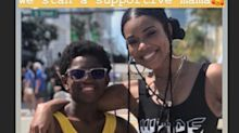 Gabrielle Union cheers on Dwyane Wade's son at gay pride parade
