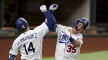 NLCS Game 7: Cody Bellinger dislocates shoulder celebrating go-ahead home run
