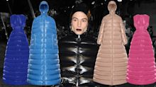 Puffer jacket dresses exist and they're selling fast thanks to Ezra Miller