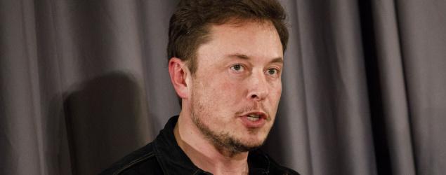 Tesla CEO Elon Musk (Bloomberg via Getty Images)