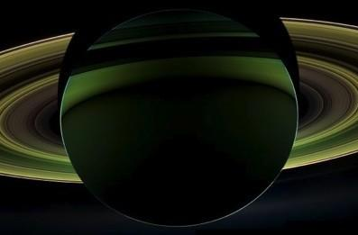 Visualized: Cassini probe gets a glimpse of Saturn's shadow