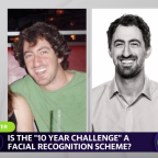 """Is the """"10 year challenge"""" a facial recognition scheme?"""