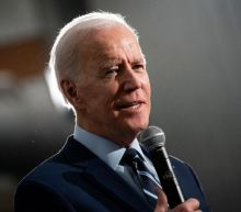 Joe Biden tells reporter to 'calm down' after repeated questions about Bernie Sanders