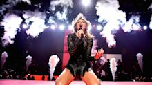 Taylor Swift wows Houston with pre-Superbowl concert...but you can only see it in one place