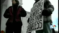 Rally calls attention to homelessness