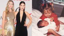 稀有地穿上可愛風白裙子!Bella Hadid 21 歲生日,姐姐 Gigi 送上感動又窩心的祝福語!