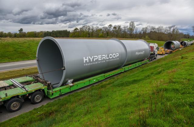 Hyperloop TT begins construction of its first test track