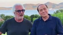 """Berlusconi positivo al Covid, Briatore: """"Non l'ho contagiato io"""""""