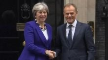 May and Tusk discuss post-Brexit EU/UK trade deal