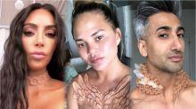 "A.Human-Designer erklärt Kim Kardashians and Chrissy Teigens ""Hautimplantate"""