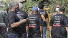 Evento da Marinha com Bolsonaro tem protesto de militares e pensionistas das Forças Armadas