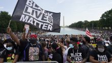 Thousands commemorate the March on Washington and push for voting rights, police reform